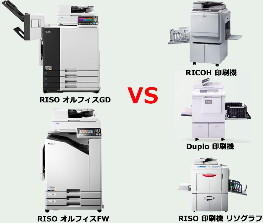 印刷機のランニングコストは高い